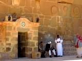Западный вход в монастырь св Екатерины