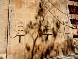 Западная стена. Кресты Юстиниана.