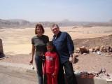На фоне вади Газалы