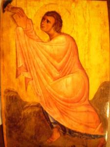 Моисей, получающий скрижали на Горе Синай